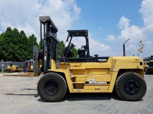 Cho thuê xe nâng 20 tấn, dịch vụ nâng hạ lắp đặt thiết bị máy móc