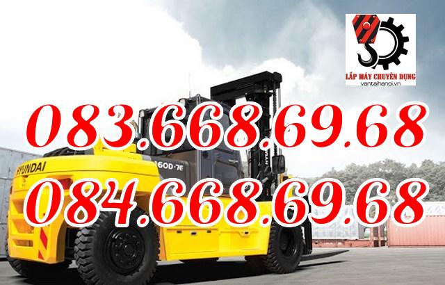 Dịch vụ cho thuê xe nâng hàng 40 tấn, dịch vụ lưu động tại các khu công nghiệp