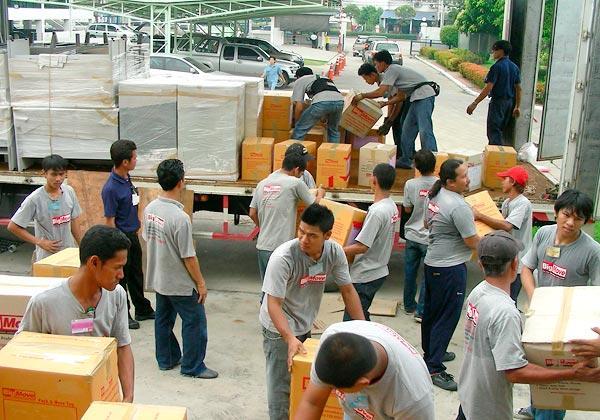 dịch vụ đóng gói dọn nhà bằng xe tac xi tải nhỏ hà nội
