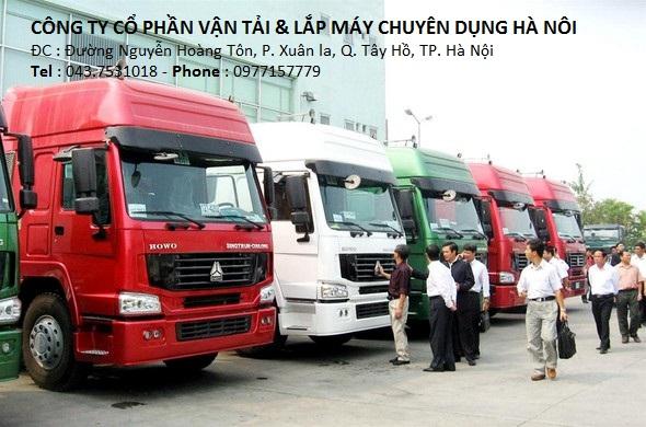 công ty dịch vụ vận tải hàng hóa tại hà nội